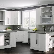 home depot kitchen wall cabinets with glass doors hton bay designer series edgeley assembled 15x42x12 in