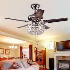 Caged Ceiling Fan With Light Ceiling Fans You U0027ll Love Wayfair