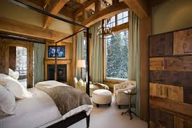 Rustic Country Master Bedroom Ideas Beartrap Residence Locati