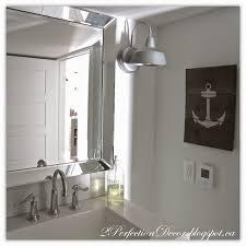 Galvanized Bathroom Lighting 2perfection Decor Basement Coastal Bathroom Reveal