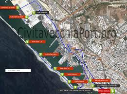 Ferry Terminal Floor Plan by How To Get Civitavecchia Port From Rome And From Airport