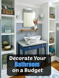 Bathrooms On A Budget Bathroom Ideas On A Budget Bathrooms On A Budget Our 10 Favorites