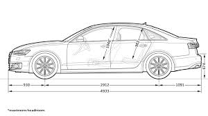 dimension audi a6 dimensions audi middle east
