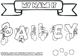 Make A Picture A Coloring Page Awesome Printable Name Coloring A Coloring