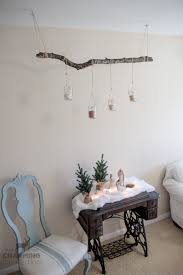 Tree Branch Candle Holder Rustic Tree Branch Candle Holder