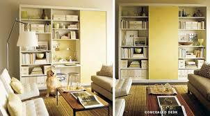 office in the living room 7 places to fit an office in the living room apartment therapy