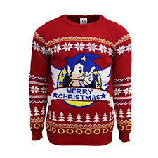 official classic sonic jumper sweater uk 4xl us