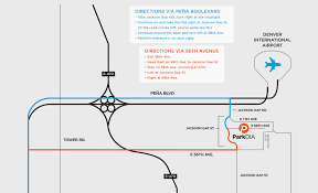 denver terminal b map dia parking closest fastest and least expensive starting as
