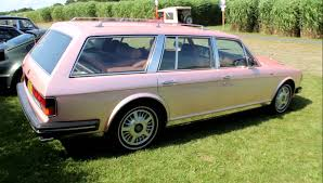 roll royce pink one of a kind pink rolls royce val d u0027isere shooting brake youtube