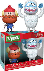 rudolph bumble yukon cornelius vynl vinyl figure 2 pack by