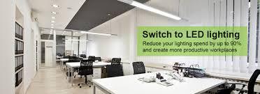 home office office lighting uk office led lighting design supply and installation of led lighting kitchen