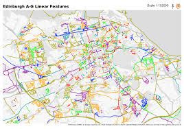 Map Your Run Run Every Street In Edinburgh U2013 In Strict Alphabetical Order