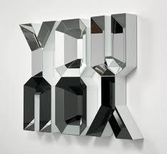 home decoration splendid art deco style mirrors with alphabet