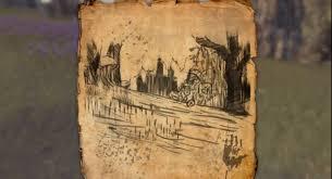 bal foyen treasure map elder scrolls treasure map guides