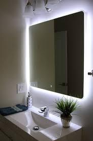 Led Bathroom Cabinet Mirror - bathroom cabinets fancy design light up mirrors bathroom windbay