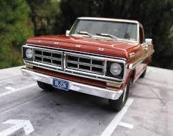 Ford Ranger Truck Models - 1971 ford ranger xlt moebius under glass pickups vans suvs