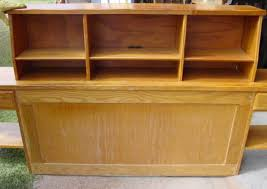 a brandt ranch oak bookcase headboard sold cindy rennels antique