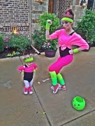 80s Workout Halloween Costume Cutest 80 U0027s Workout Girls Couple Costume Toddlers Workout