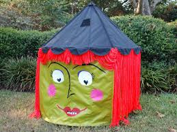 halloween signs for yard halloween ikea hack turn a circus tent into a witch tent diy