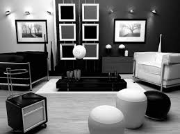 White Furniture Bedroom Ideas Black White Living Room Diner Interior Design Of Black White