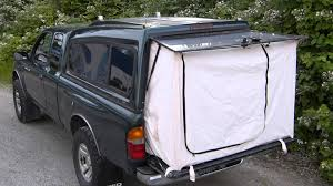 Chevy Silverado Truck Bed Tent - tent end for a pickup truck camping topper pinterest bed