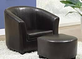 Leather Armchairs Vintage Ottoman Leather Armchair And Ottoman Leather Chair And Ottoman