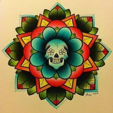 best 25 flower skull tattoos ideas on pinterest pretty skull