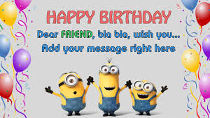 singing happy birthday make minions sing happy birthday and add your message for 5