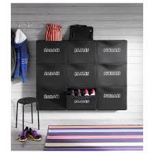 trones shoe storage cabinet black ikea