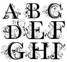 monogramed letters 89db55b6b58c72149c7cdd9ca3ec2e99 monogram letters fancy letters