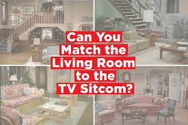 quiz match the famous living room to the tv sitcom apartment