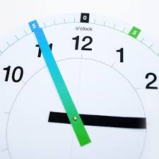 printable learning clock minieco