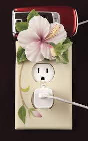 Beautiful & Functional Decorative Outlet Covers and Cell Phone