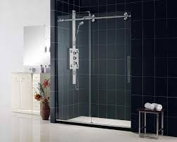 bathroom glass doors safety glass transparent glass wall and