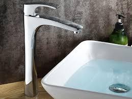 Tall Single Handle Bathroom Faucet Single Handle Deck Mounted Bathroom Sink Faucet