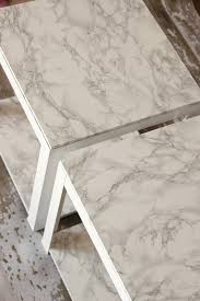 Diy Marble Coffee Table by Faux Marble Tables Windgate Lane