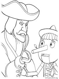 shrek coloring pages shrek captain hook pinocchio coloring
