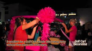 golf cart decorating youtube