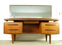 Vanity Table And Stool Set Vanities Mid Century Modern Vanity Table Mid Century Modern
