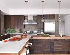 Dark Walnut Kitchen Cabinets by A Dark And Handsome Kitchen Neutral Kitchen Walnut Cabinets And