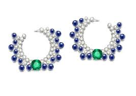 piaget earrings biennale des antiquaires piaget finds its groove with a