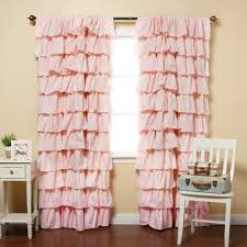 Pink Eclipse Curtains Curtain White Ruffle Blackout Curtains Beautiful Curtains
