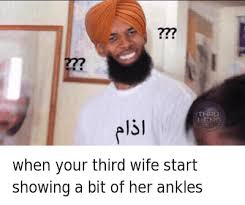 Sexy Wife Meme - when your third wife start showing a bit of her ankles when your