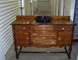 Repurpose Upcycle - buffet into a bath vanity hometalk