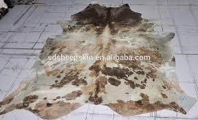 Real Cowhide Rug Genuine 40 60sqft Natural Cow Hide Skin Rugs Leather Round Cowhide