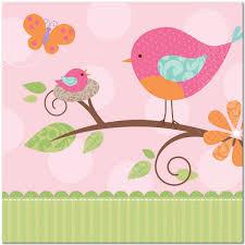 bird baby shower 31449 bird baby shower lunch napkins jpg 600 600 djd