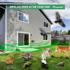 amazon com yard sentinel outdoor electronic pest animal