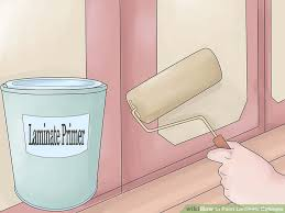 What Are Mobile Home Cabinets Made Of - how to paint laminate cabinets 7 steps with pictures wikihow