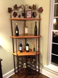 wine rack microwave hutch wine rack small hutch with wine rack