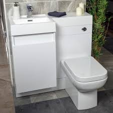 Bathroom Combined Vanity Units by Summers 900 Wc And Vanity Combination Unit Gloss White Left Hand